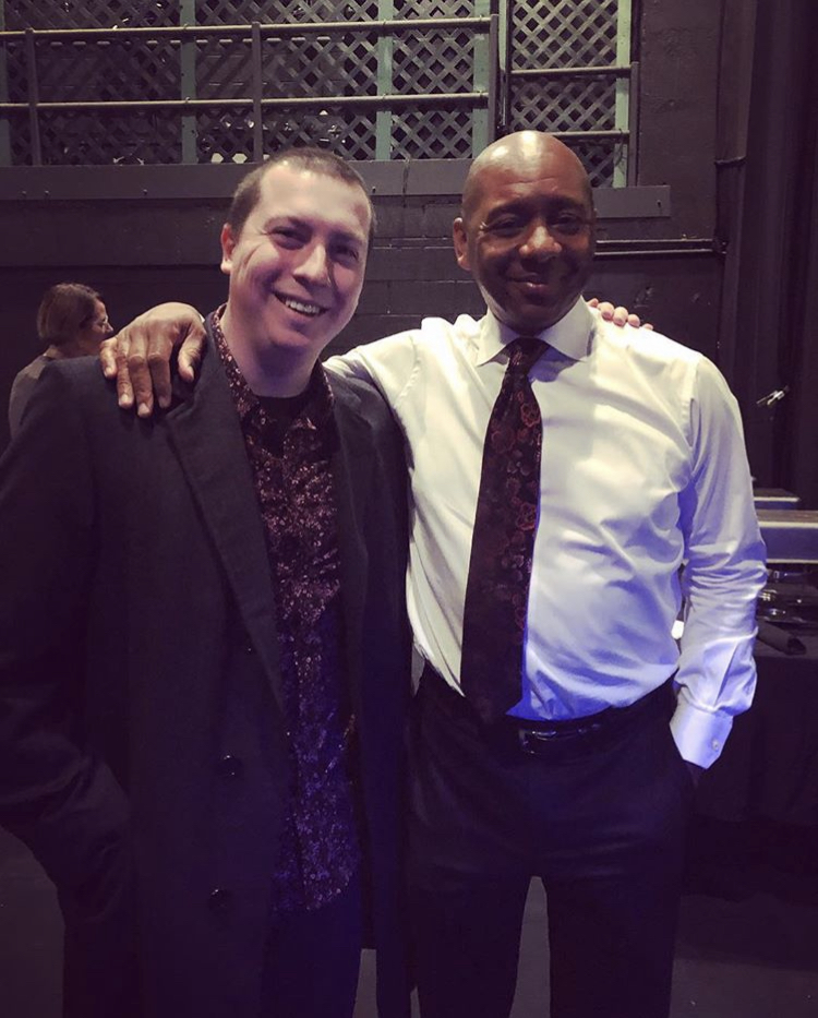 With Branford Marsalis