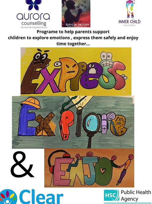 Express, Explore and Enjoy