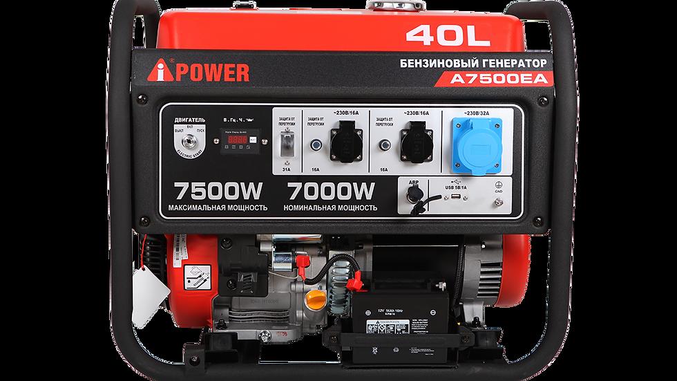 Бензиновый Генератор A-IPOWER A7500EA