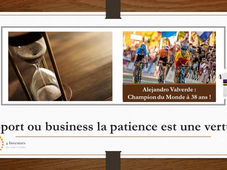 Question n°7 : Pourquoi la patience doit-elle faire partie intégrante de votre stratégie ?