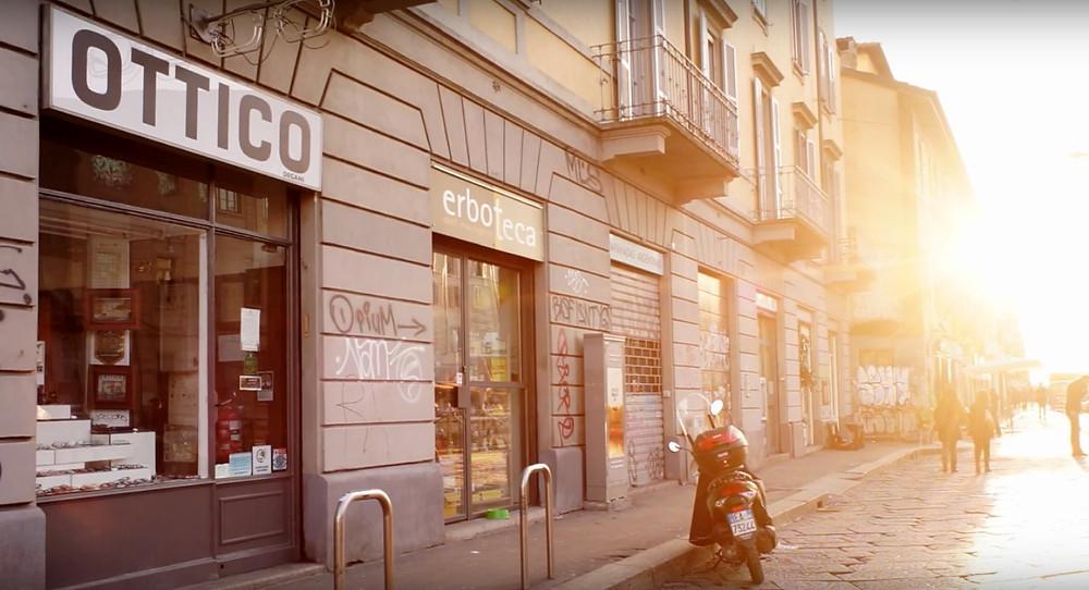Magasin de lunettes - Milan - 4Investors