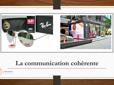 Question n°8 : Utilisez-vous une communication cohérente ?