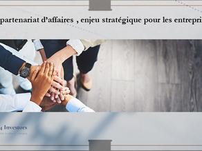 Question n°11 : Le partenariat d'affaires, nouvel enjeu stratégique des entreprises.