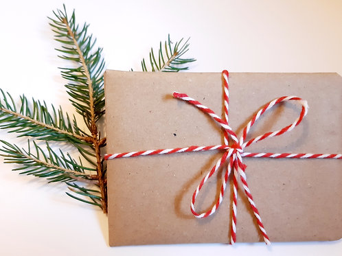 Sustainable gift wrap, 100% recyclable