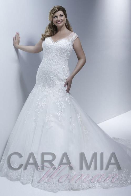 cara mia plus size lace mermaid size 26 | Devon Wedding Dresses ...