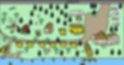 Bayside Resort Leech Lake map