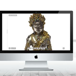 Synthescape Portfolio Website (2017)