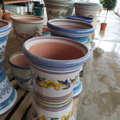 Jardinera cerámica