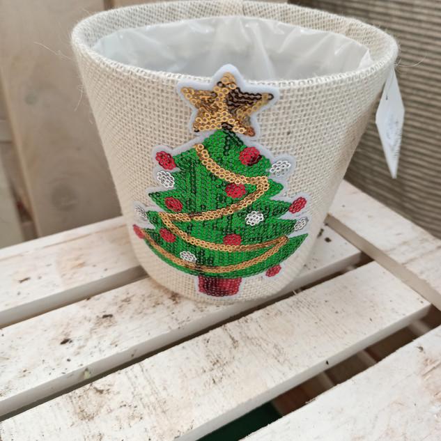 Macetero árbol de navidad