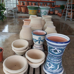 Jarcinera de cerámica