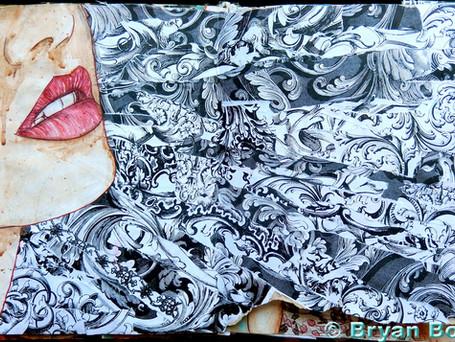 Sketchbook Art Aug 2013 - June 2015