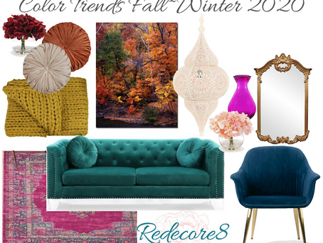 Color Trends For Fall~Winter 2020