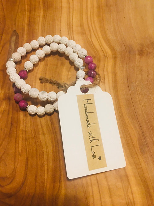 Mommy & Me Connected Bracelets: Sugilite