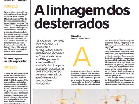 """Diário do Nordeste: """"A linhagem dos desterrados"""""""