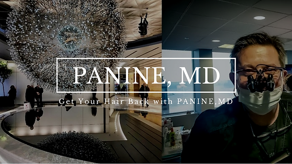 Get Your Hair Back with PANINE, MD