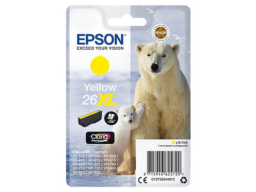 Epson 26XL Jaune