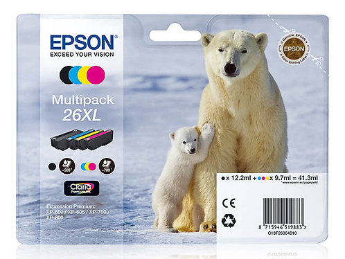 Pack Epson 26XL