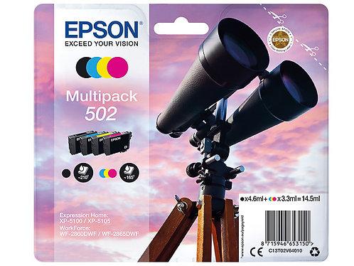 Pack cartouches d'encre Epson 502