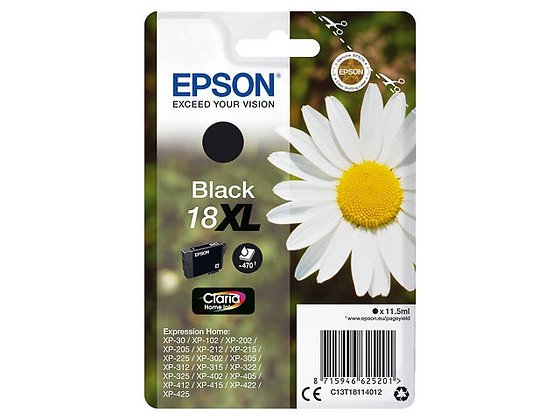Epson 18XL Noir
