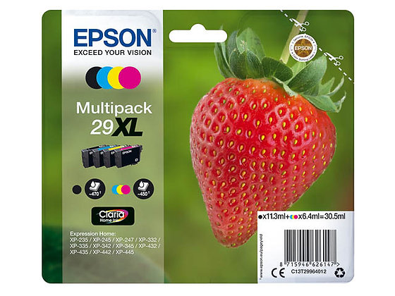 Pack Epson 29XL