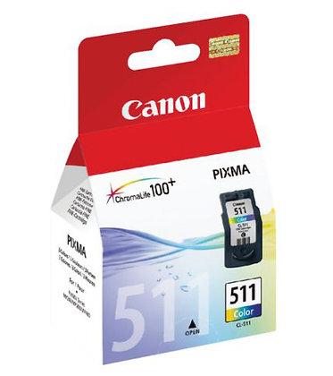 Cartouche d'encre Canon CL511 Couleurs
