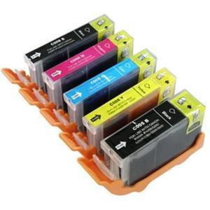 Pack cartouches d'encre Canon CLI8 - PGI5 compatible