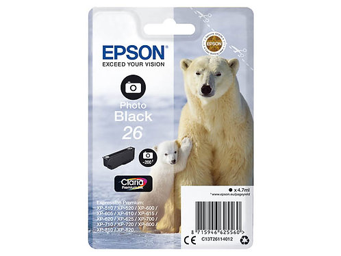 Epson 26 Noir Photo