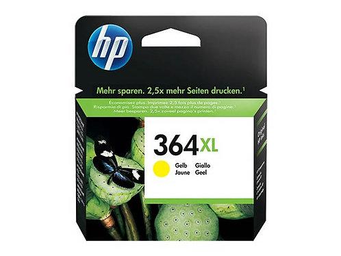 Cartouche d'encre HP364XL Jaune