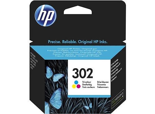 Cartouche d'encre HP302 Couleurs