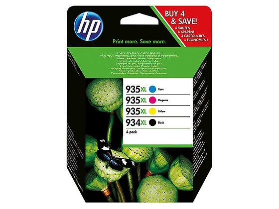Pack cartouches d'encre HP934-935XL