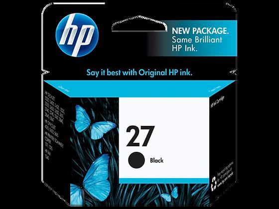 Cartouche d'encre HP27 Noir