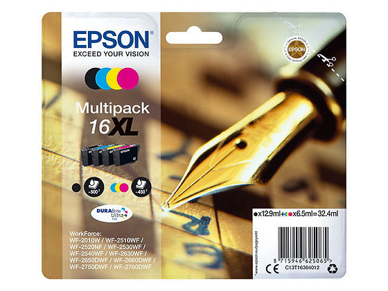Pack Epson 16XL