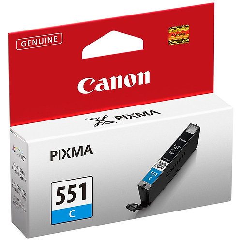 Cartouche d'encre Canon CLI551 Cyan