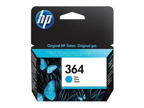 Cartouche d'encre HP364 Cyan