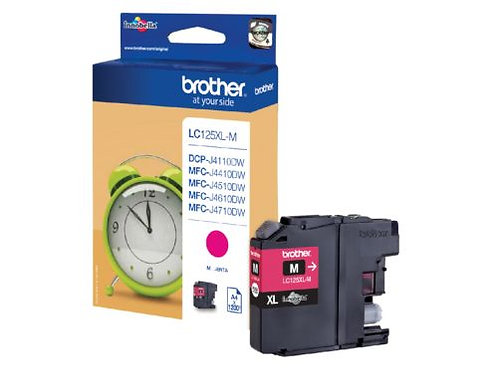 Brother LC125 Magenta