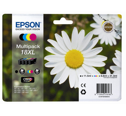 Pack Epson 18XL