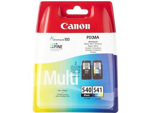 Pack cartouches d'encre Canon PG540-CL541