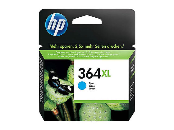 Cartouche d'encre HP364XL Cyan
