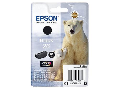 Epson 26 Noir