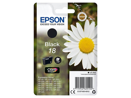Epson 18 Noir