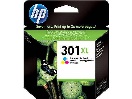 Cartouche d'encre HP301 XL Couleurs