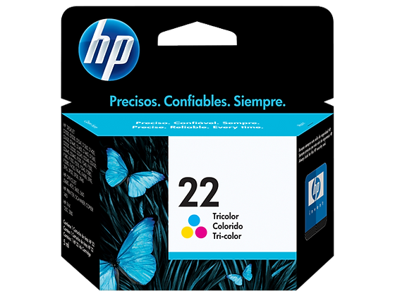 Cartouche d'encre HP22 - Couleurs