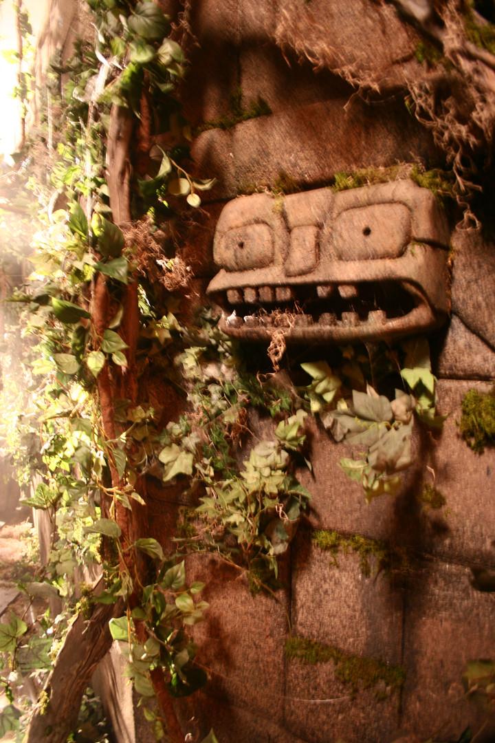 Mayan Temple-detail