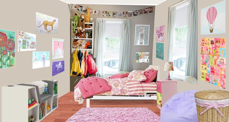 Sam's bedroom-pencil+photoshop
