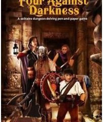 Review - Four Against Darkness: A solitaire dungeon-delving pen-and-paper game