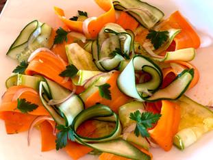 Salada Crocante em Tiras