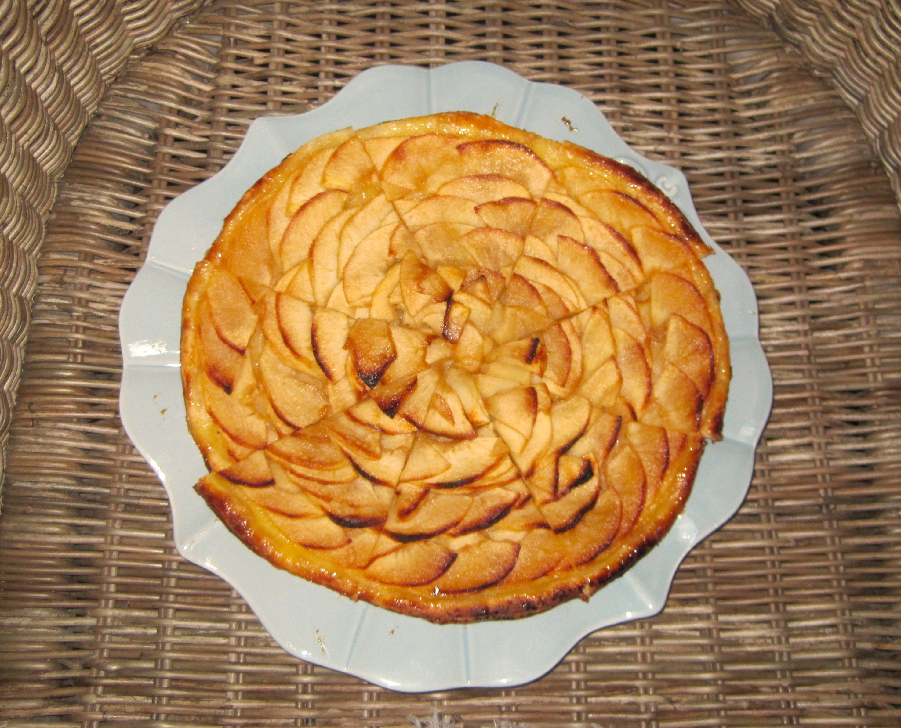 Torta de maçã - Jacky Favre