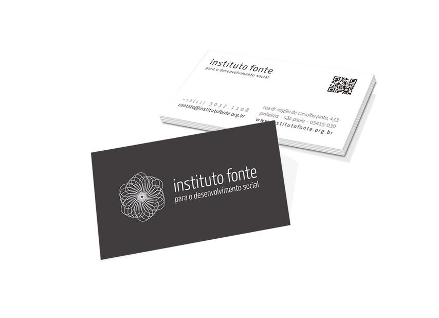 Cartão de visita | Instituto Fonte