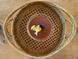 Mousse de chocolate ao Cointreau