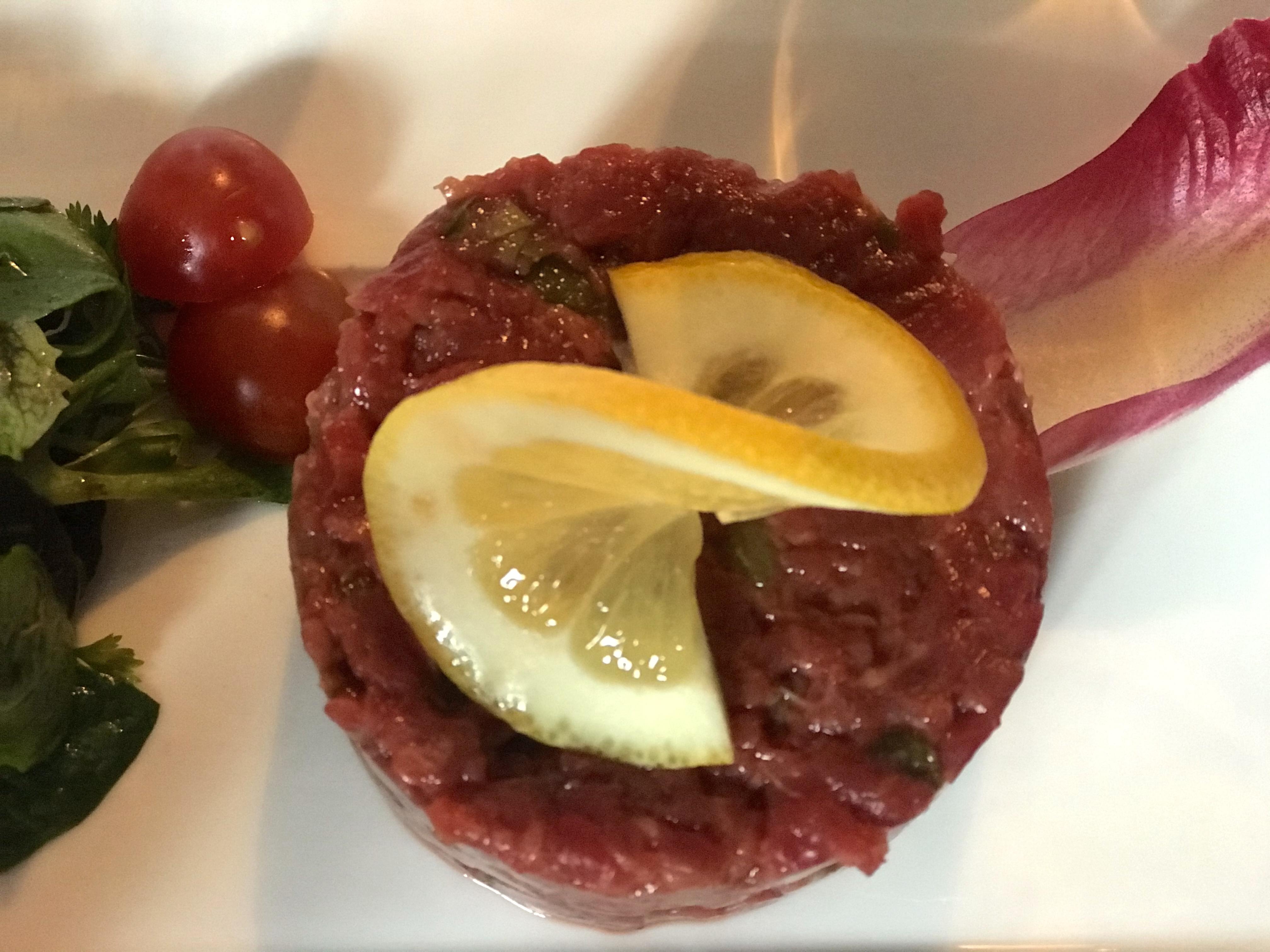 Beef tartar - Jacky Favre